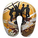 Neck Pillow With Resilient Material Dance Team U Type Travel Pillow Super Soft Cervical Pillow