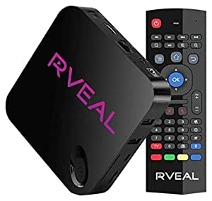 Rveal Media TV Tuner & Air Mouse Remote [Android, 4K, Streaming TV]