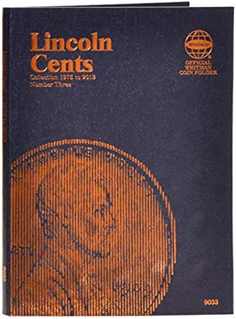 Lincoln Cents 1975 to 2014 P in Whitman Album