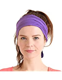 de4e2cd7d96 Womens Headband Boho Headwrap - Turban Head Wrap Festival Retro Hair  Accessory Pirate Hairband