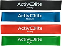 ActiveElite ✮ 4 verschiedene Fitnessbänder / Trainingsbänder /...