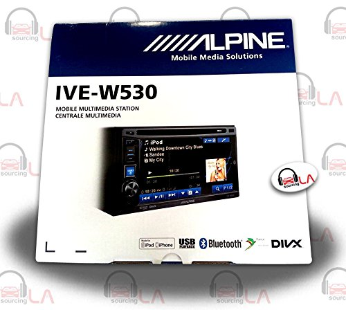 alpine touchscreen head unit - 2