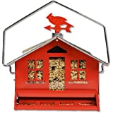 Perky-Pet 338 Squirrel Be Gone II Country House with Weathervane