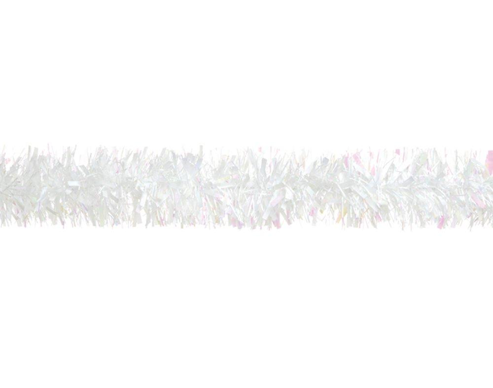 White Tinsel Christmas Tree Decoration - 2m | Christmas Tree Decoration Crafty Capers