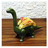 Staron Taco Stand Holder - 2019 Funny Dinosaur Taco Holder Serving Trays Stand Tortilla Dish Tortilla Scaffold Home Decor The Perfect Gift for Taco Lovers Kids and Adults (A)