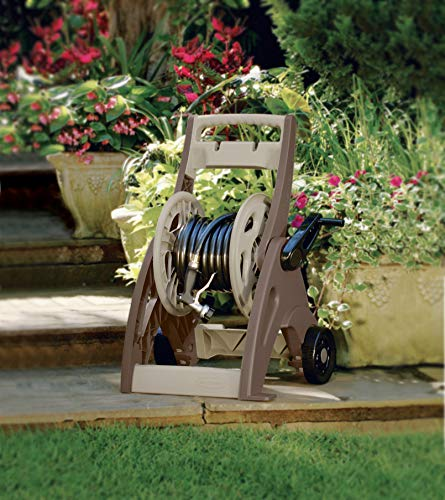 Suncast 175' Hosemobile Garden Hose Reel Cart - Garden Hose Caddy with Large Easy to Grip Crank for  - http://coolthings.us