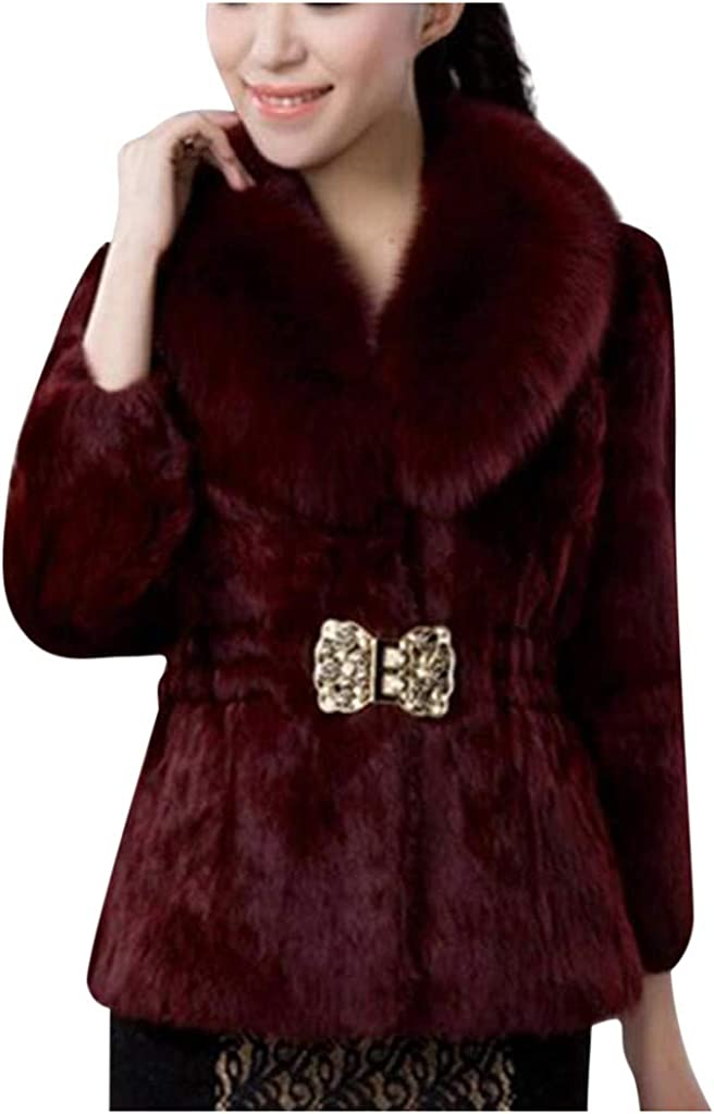 Libobo_women Ladies Fur...