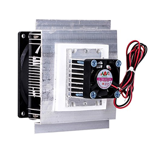 SODIAL TEC-12706 Thermoelectric Peltier Refrigeration Cooling System Kit Cooler Fan DIY by SODIAL (Image #1)