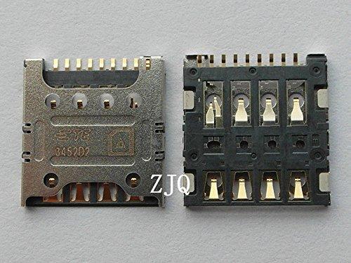 2x New SIM Card Reader Slot Connector Socket For T-MOBIL LG Optimus L90 D415 - T Mobil Lg Phone
