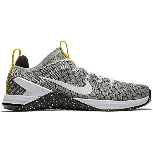 5 Sneakers Black Multicolore Dynamic Flyknit 001 White X 2 Dsx EU Homme Metcon NIKE Basses 42 Yellow wzq1XRFZ8
