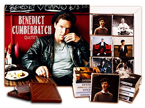 - DA CHOCOLATE Candy Souvenir BENEDICT CUMBERBATCH Chocolate Set 5x5