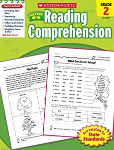 Scholastic Success with Reading Comprehension, Grade 2: Scholastic ...