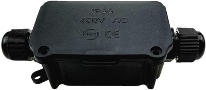 Lezed Cajas de empalmes IP66 Impermeable Conector Conector de cable impermeable IP66 Junction Box IP66 Caja de conexiones impermeable IP66 para Cable de 4-8 mm Diametro: Amazon.es: Bricolaje y herramientas