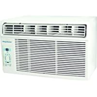 Keystone KSTAW08B 8,000 BTU 115V Window-Mounted Air Conditioner with Follow Me LCD Remote Control