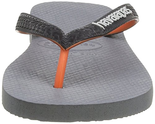 Havaianas Uomo Mix Grigio 5178 Infradito Grey Steel Top Donna pqpgr