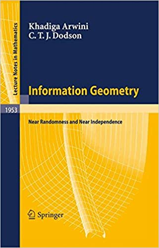 Information Geometry Near Randomness And Near Independence