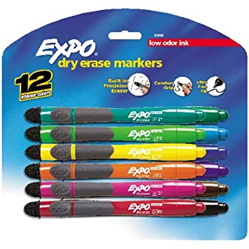 Amazon.com : Expo Low Odor Ultra Fine Tip Dry Erase