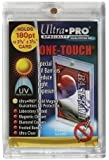 (5) 180pt Ultra Pro One Touch Magnet Card Holders for Thicker Baseball Football Basketball and other Trading Cards