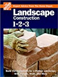 Landscape Construction 1-2-3, The Home Depot, 0696217651