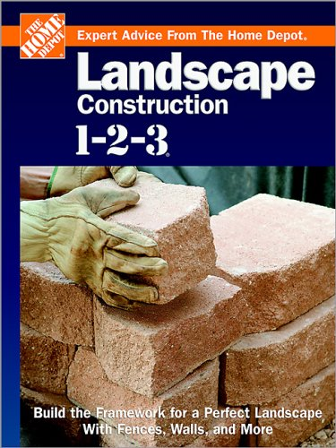 on 1-2-3: Build the Framework for a Perfect Landscape with Fences, Walls, and More (Expert Advice from the Home Depot) (Home Depot Grass)