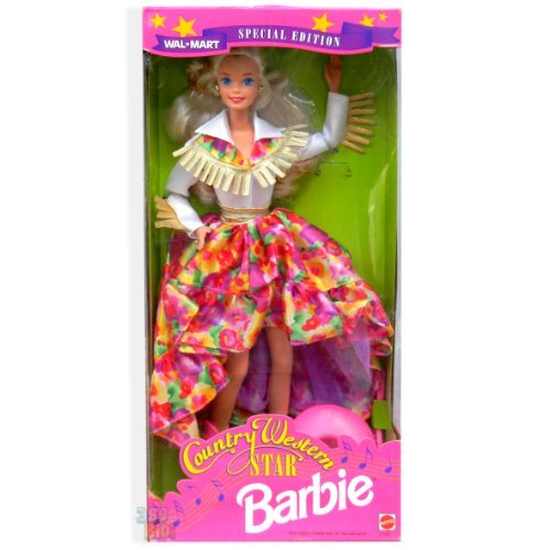 Barbie Doll Country Western Blonde