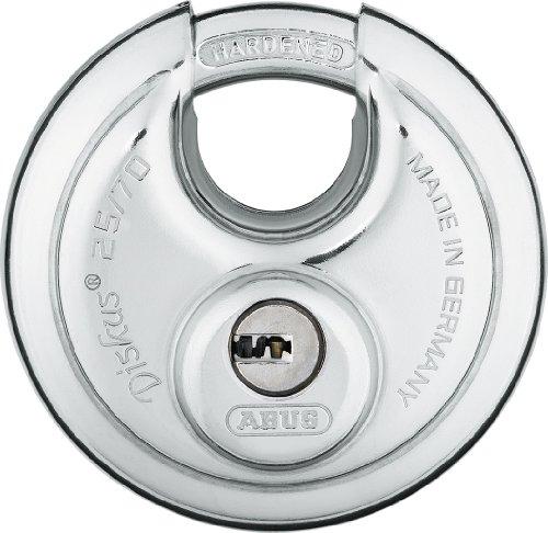 ABUS 25/70 Diskus Stainless Steel Padlock Keyed Different