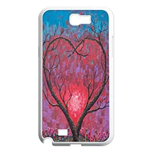 MEIMEILove Tree Original New Print DIY Phone Case for Samsung Galaxy Note 2 N7100,personalized case cover ygtg594223MEIMEI