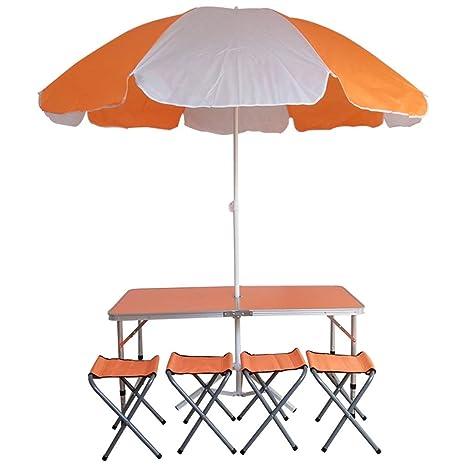 Amazon.com: KMDB - Mesa plegable portátil, mesa paraguas ...
