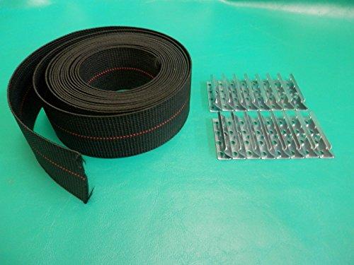 WEBBING REPAIR KIT CLIPS FAGAS STRAP PIRELLI KOFOD - Tubular Cam Lock 5 8