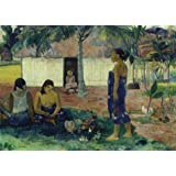 'gauguin why are you angry' oil painting, 10x14 inch / 25x36 cm ,printed on Perfect effect Canvas ,this Imitations Art DecorativePrints on Canvas is perfectly suitalbe for Bedroom artwork and Home artwork and Gifts