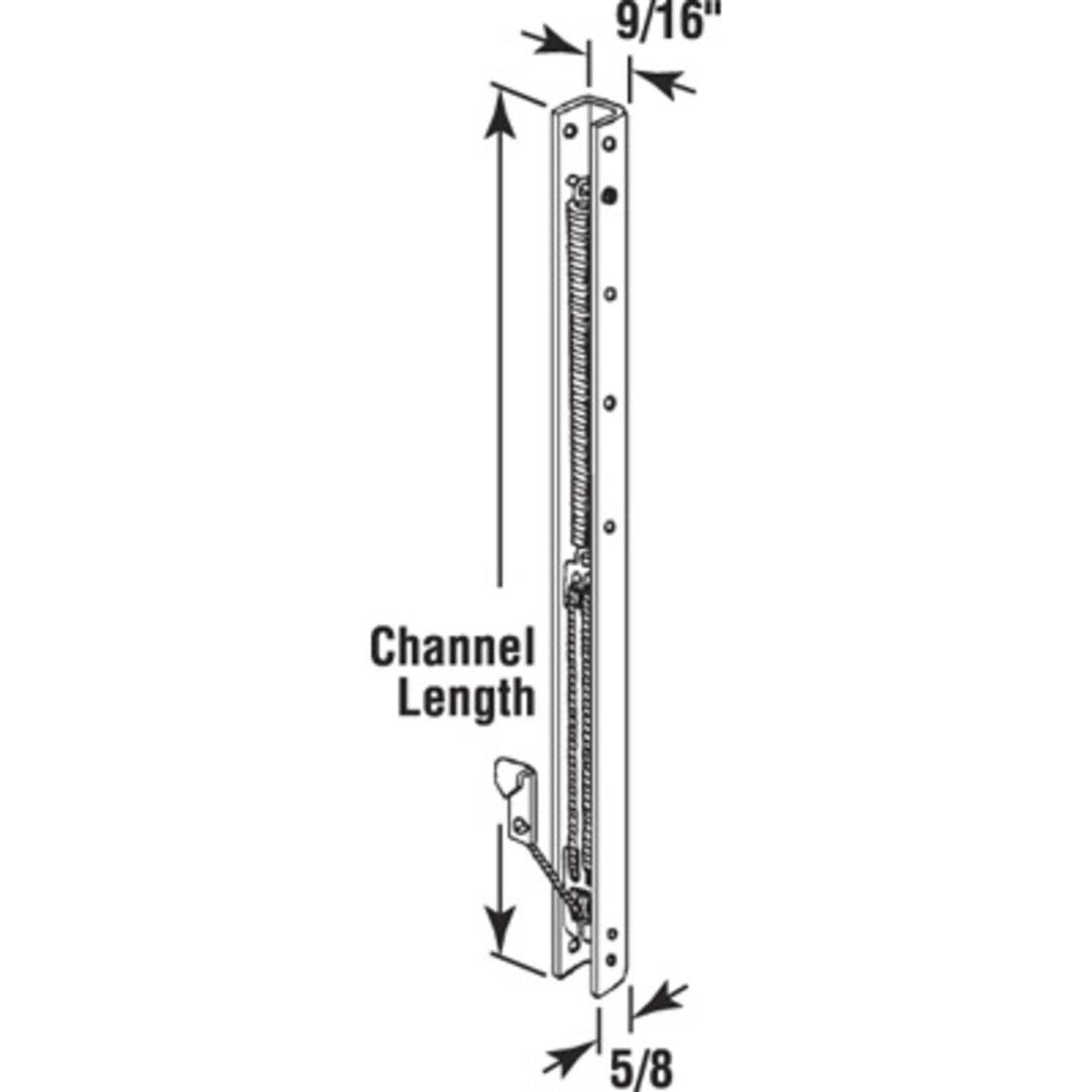 17 Window Channel Balance; 1620 or 16B C.R LAURENCE
