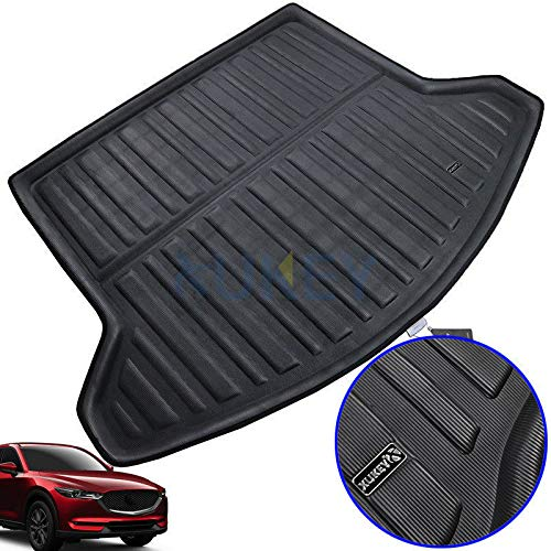 FidgetGear for Mazda CX-5 CX5 MK2 2017 2018 Rear Cargo Liner Boot Trunk Tray Floor Mat