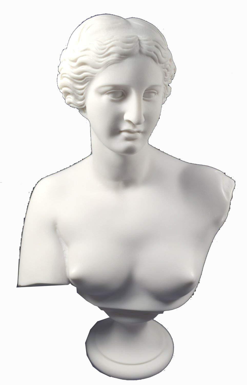 Estia Creations Aphrodite Sculpture Venus Statue Goddess of Love Great Bust by Estia Creations