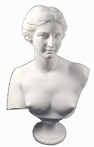 Estia Creations Aphrodite Sculpture Venus Statue Goddess of Love Great Bust