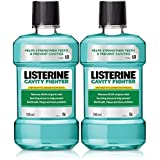 Listerine Cavity Fighter Mouthwash - 500 ml (Pack of 2)