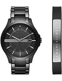 fffee316eab7a Armani Exchange Men s AX7101 Watch and Bracelet Gift Set
