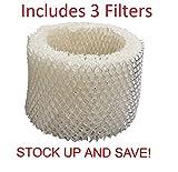 Humidifier Filter for Kaz Vicks Protec V3100 V-3100 V3500 - 3...