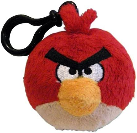 Angry Birds Red Bird Backpack Clip