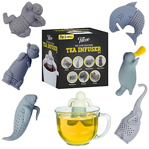 Infuser Silicone Strainer Steeper Tilevo product image