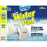 best air water pad - BestAir A35W, Aprilaire Replacement, Paper Furnace Humidifier Water Pad, 13.2