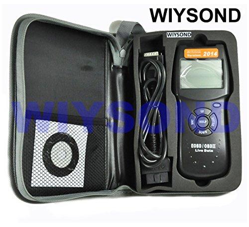 Wiysond Car007 D900 2014 ver. Car Engine Fault Diagnostic Scanner Code Reader OBD OBD2 OBDII