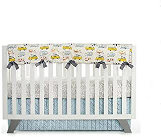 product image for Glenna Jean Happy Camper Convertible Crib Rail Protector, Long