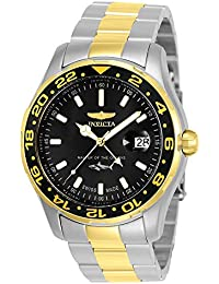 Men's Pro Diver Quartz Watch with Stainless-Steel Strap, Two Tone, 22 (Model: 25825)