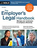 The Employer's Legal Handbook, Attorney, Fred S Steingold, 1413318886
