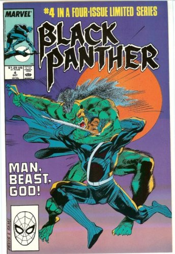 Black Panther (Ltd. Series), Edition# 4