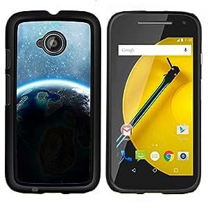 Be-Star Único Patrón Plástico Duro Fundas Cover Cubre Hard Case Cover Para Motorola Moto E2 / E(2nd gen)( Galassia Stelle 66 )