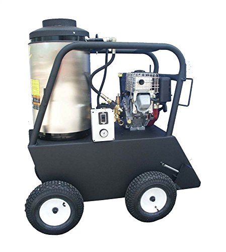 (Cam Spray 2030QB Q Series Portable Diesel Fired Gas Powered Hot Water Pressure Washer, 2000 psi, 50' Hose)