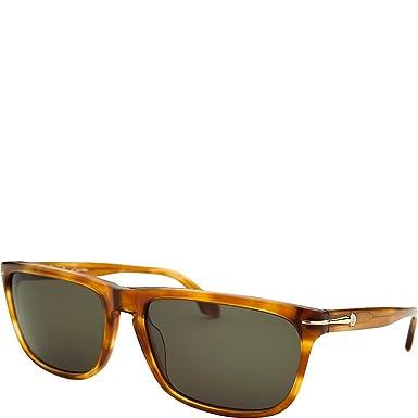 Amazon.com: Calvin Klein rectángulo Blonde Havana – Gafas de ...