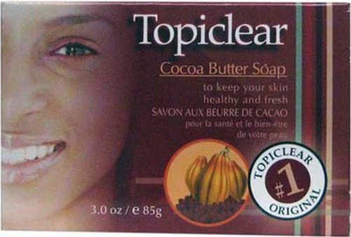 Topiclear Cocoa Butter Soap. 3.0 Oz