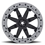 MSA M31 Lok2 Beadlock ATV Wheel - Satin Black [14x7] +0mm, 4/156 [M31-04756]